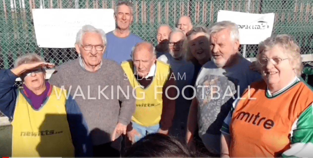 walking football group