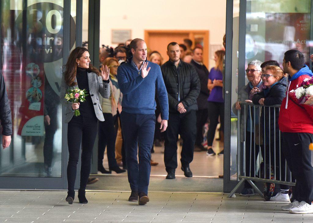 Duke and Duchess of Cambridge visiting scheme