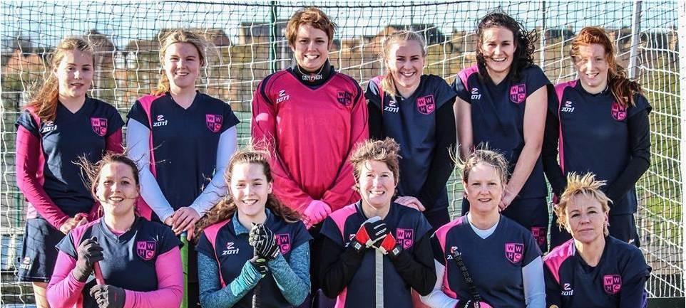 Back to Hockey Womens Team Photo