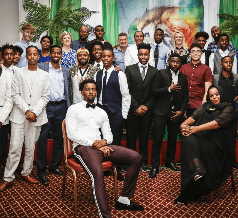 group shot of men from project