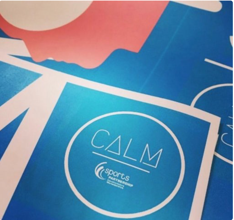 calm pledge logo