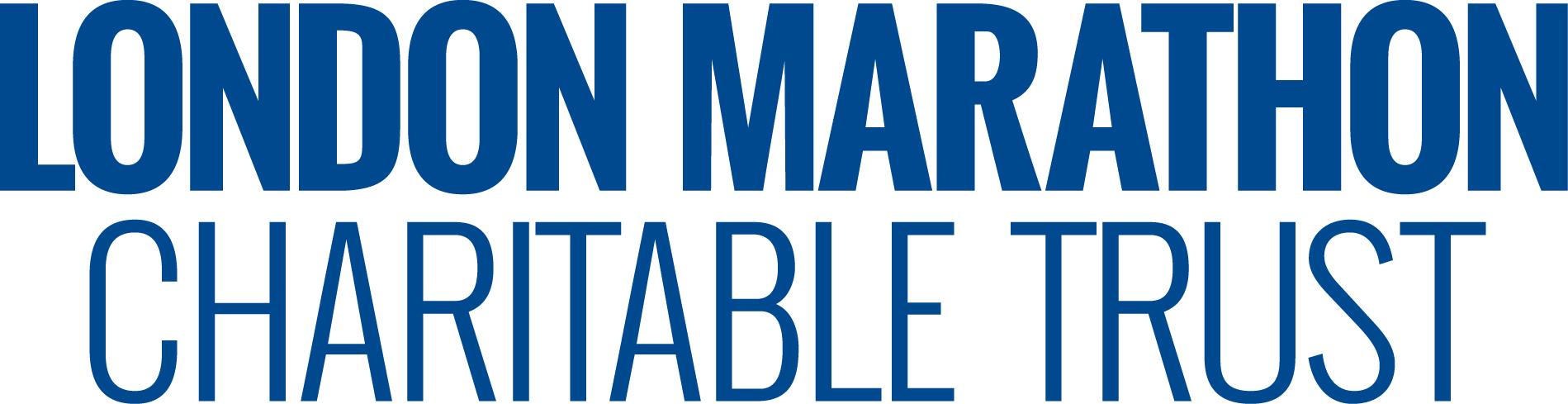london marathon charitable trust blue logo