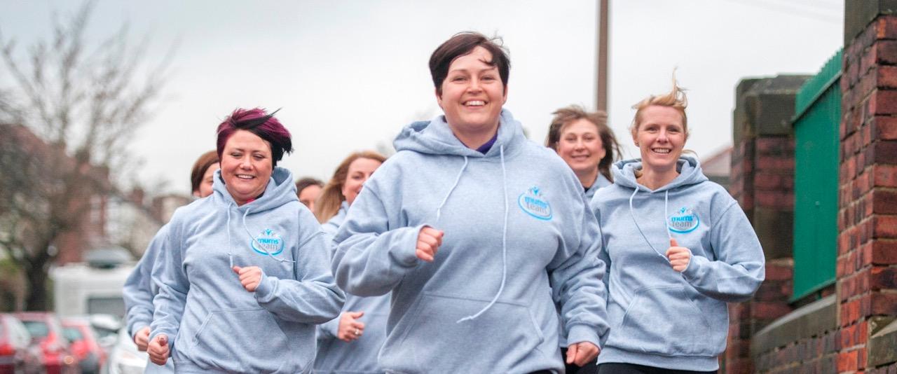 women enjoying jogging