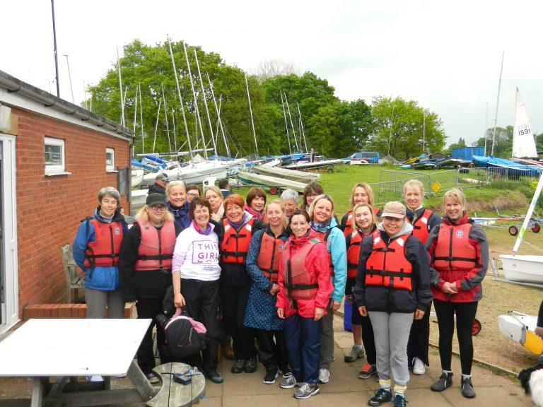 group shot of women sailors