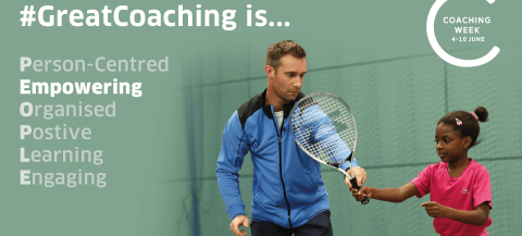 Graphic outlining Principles of Great Coaching