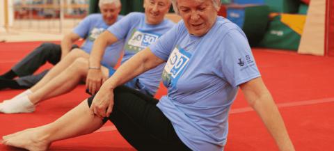 Participants in last year's 30:30 Essex challenge  Credit: Active Essex