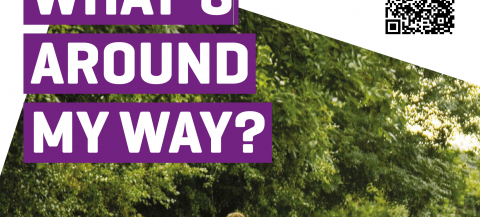 poster with title 'what around my way?'