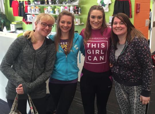 Natasha Porter- This Girl Can ambassador encourages women to be active