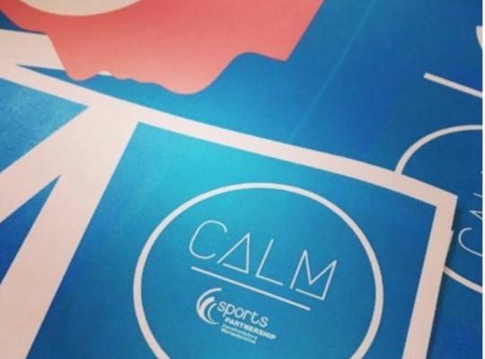 calm pledge logo