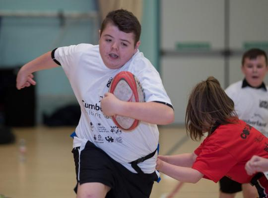 school games tag rugby