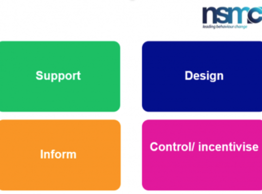 image showing the NSMC intervention mix